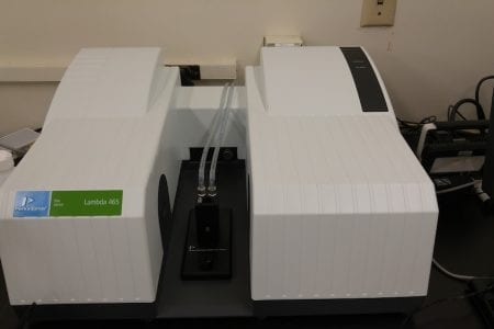 PerkinElmer Lambda 465 – Reaction Kinetics